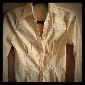 Express design studio Vneck blouse